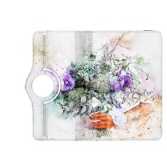 Flowers Bouquet Art Abstract Kindle Fire Hdx 8 9  Flip 360 Case