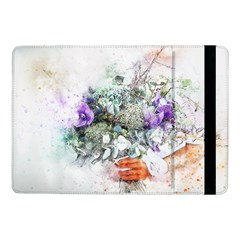 Flowers Bouquet Art Abstract Samsung Galaxy Tab Pro 10 1  Flip Case