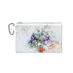 Flowers Bouquet Art Abstract Canvas Cosmetic Bag (s)