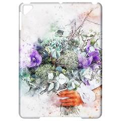 Flowers Bouquet Art Abstract Apple Ipad Pro 9 7   Hardshell Case
