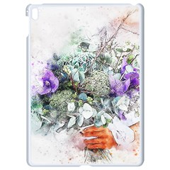 Flowers Bouquet Art Abstract Apple Ipad Pro 9 7   White Seamless Case