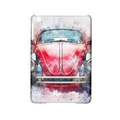Red Car Old Car Art Abstract Ipad Mini 2 Hardshell Cases