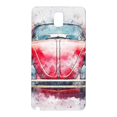 Red Car Old Car Art Abstract Samsung Galaxy Note 3 N9005 Hardshell Back Case