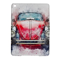 Red Car Old Car Art Abstract Ipad Air 2 Hardshell Cases