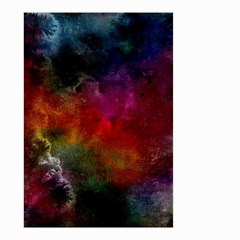 Abstract Picture Pattern Galaxy Small Garden Flag (two Sides)