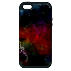 Abstract Picture Pattern Galaxy Apple Iphone 5 Hardshell Case (pc+silicone)