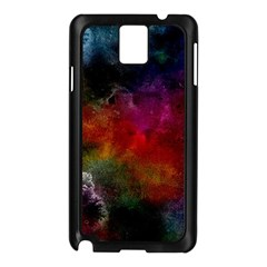 Abstract Picture Pattern Galaxy Samsung Galaxy Note 3 N9005 Case (black)