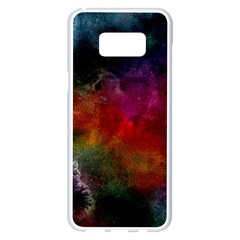 Abstract Picture Pattern Galaxy Samsung Galaxy S8 Plus White Seamless Case