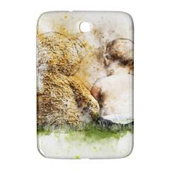 Bear Baby Sitting Art Abstract Samsung Galaxy Note 8 0 N5100 Hardshell Case