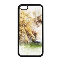 Bear Baby Sitting Art Abstract Apple Iphone 5c Seamless Case (black)