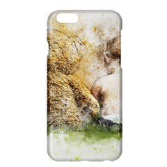 Bear Baby Sitting Art Abstract Apple Iphone 6 Plus/6s Plus Hardshell Case