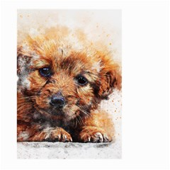 Dog Puppy Animal Art Abstract Large Garden Flag (two Sides)