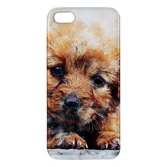 Dog Puppy Animal Art Abstract Iphone 5s/ Se Premium Hardshell Case