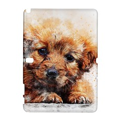 Dog Puppy Animal Art Abstract Galaxy Note 1