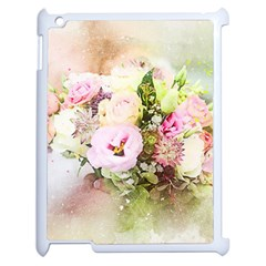 Flowers Bouquet Art Abstract Apple Ipad 2 Case (white)