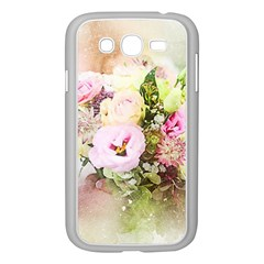 Flowers Bouquet Art Abstract Samsung Galaxy Grand Duos I9082 Case (white)