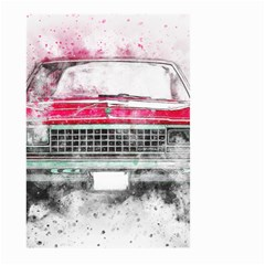 Car Old Car Art Abstract Large Garden Flag (two Sides)
