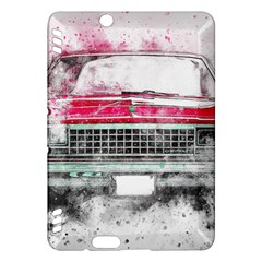 Car Old Car Art Abstract Kindle Fire Hdx Hardshell Case