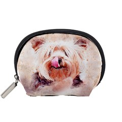 Dog Animal Pet Art Abstract Accessory Pouches (small)