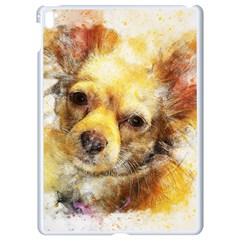 Dog Animal Art Abstract Watercolor Apple Ipad Pro 9 7   White Seamless Case
