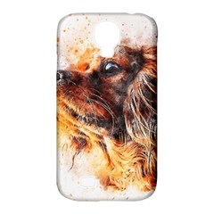 Dog Animal Pet Art Abstract Samsung Galaxy S4 Classic Hardshell Case (pc+silicone)