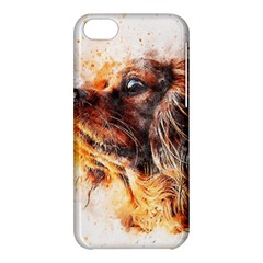 Dog Animal Pet Art Abstract Apple Iphone 5c Hardshell Case