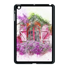 Window Flowers Nature Art Abstract Apple Ipad Mini Case (black)