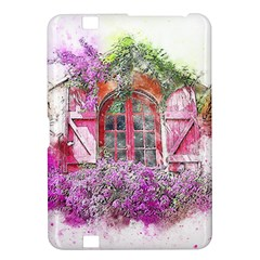 Window Flowers Nature Art Abstract Kindle Fire Hd 8 9