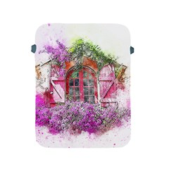 Window Flowers Nature Art Abstract Apple Ipad 2/3/4 Protective Soft Cases