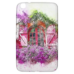 Window Flowers Nature Art Abstract Samsung Galaxy Tab 3 (8 ) T3100 Hardshell Case