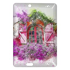 Window Flowers Nature Art Abstract Amazon Kindle Fire Hd (2013) Hardshell Case