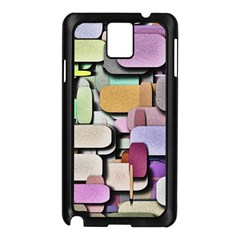 Background Painted Squares Art Samsung Galaxy Note 3 N9005 Case (black)
