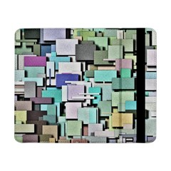 Background Painted Squares Art Samsung Galaxy Tab Pro 8 4  Flip Case