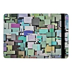 Background Painted Squares Art Samsung Galaxy Tab Pro 10 1  Flip Case