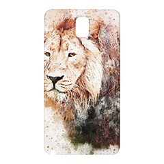 Lion Animal Art Abstract Samsung Galaxy Note 3 N9005 Hardshell Back Case