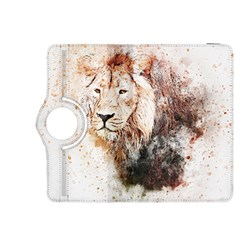 Lion Animal Art Abstract Kindle Fire Hdx 8 9  Flip 360 Case