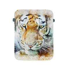 Tiger Animal Art Abstract Apple Ipad 2/3/4 Protective Soft Cases