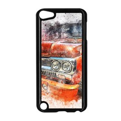 Car Old Car Art Abstract Apple Ipod Touch 5 Case (black)