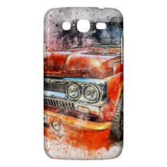 Car Old Car Art Abstract Samsung Galaxy Mega 5 8 I9152 Hardshell Case