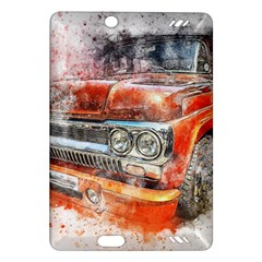 Car Old Car Art Abstract Amazon Kindle Fire Hd (2013) Hardshell Case