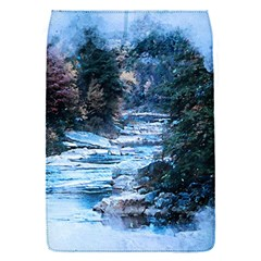 River Water Art Abstract Stones Flap Covers (s)