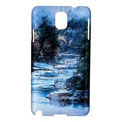 River Water Art Abstract Stones Samsung Galaxy Note 3 N9005 Hardshell Case