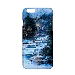 River Water Art Abstract Stones Apple Iphone 6/6s Hardshell Case