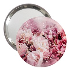 Flowers Bouquet Art Abstract 3  Handbag Mirrors