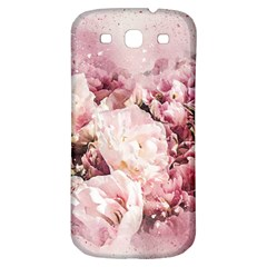 Flowers Bouquet Art Abstract Samsung Galaxy S3 S Iii Classic Hardshell Back Case
