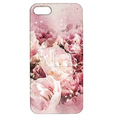 Flowers Bouquet Art Abstract Apple Iphone 5 Hardshell Case With Stand