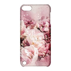 Flowers Bouquet Art Abstract Apple Ipod Touch 5 Hardshell Case With Stand