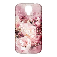 Flowers Bouquet Art Abstract Samsung Galaxy S4 Classic Hardshell Case (pc+silicone)
