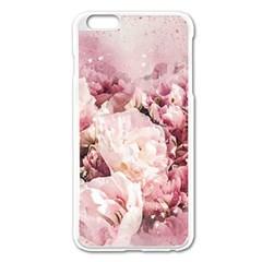 Flowers Bouquet Art Abstract Apple Iphone 6 Plus/6s Plus Enamel White Case