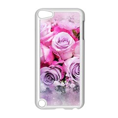 Flowers Roses Bouquet Art Abstract Apple Ipod Touch 5 Case (white)
